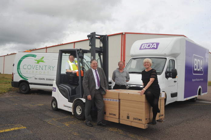 Coventry Airport names cargo handler