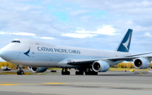 Cathay Pacific Cargo Boeing 747-8F