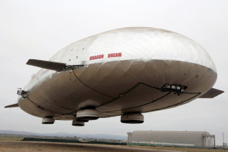 Aeros granted patent for cargo airship design - AIR CARGO WEEK