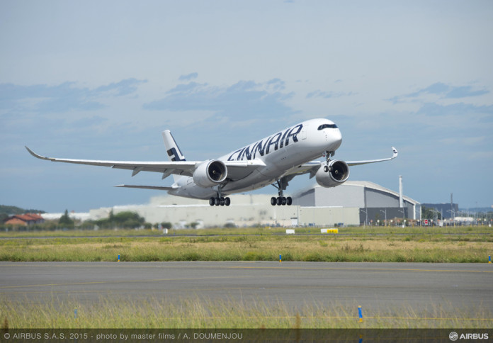 Finnair's first Airbus A350XWB