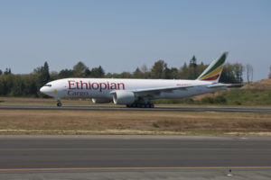 Ethiopian Cargo Boeing 777 Freighter