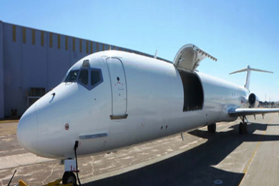Aeronaves orders fourth AEI MD-82SF converted freighter