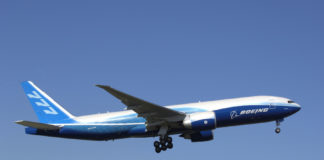 A Boeing 777F