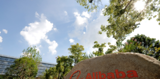 Alibaba Group's corporate campus in Hangzhou, China