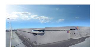An artists impression of the new FedEx Paris CDG hub