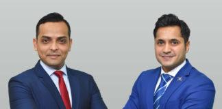 Shahvez (left) and Ashish (right)