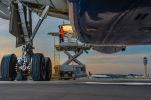 A Delta Air Lines Airbus 330-300. )Picture courtesy of Delta Air Lines)