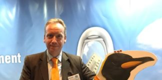 Jettainer managing director, Carsten Hernig at the launch at the Air Cargo Handling Conference in Budapest