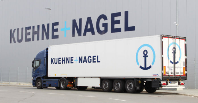 Kuehne+Nagel more than doubles earnings
