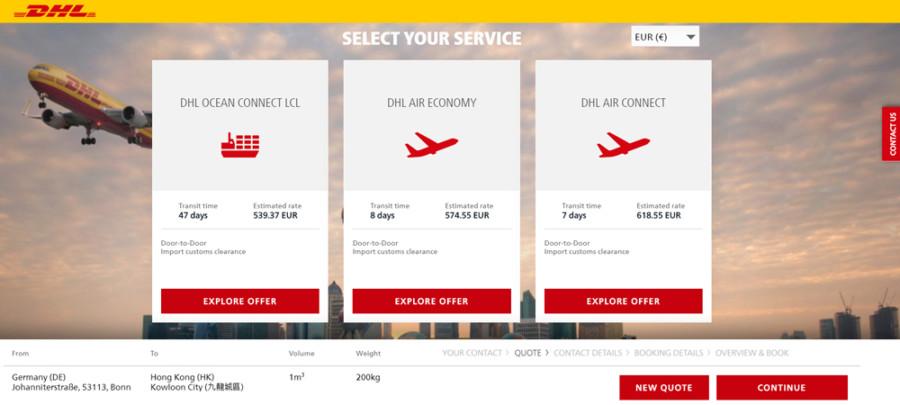 DHL Global Forwarding launches myDHLi - AIR CARGO WEEK
