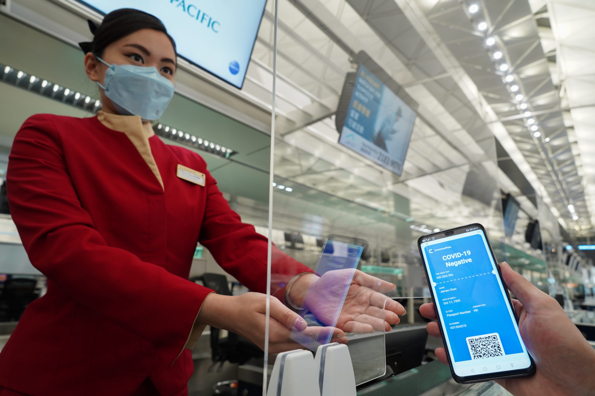 Digital health pass trial successfully completed at HKIA | AIR CARGO WEEK
