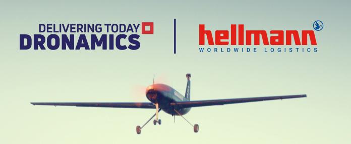 DRONAMICS partners with Hellmann