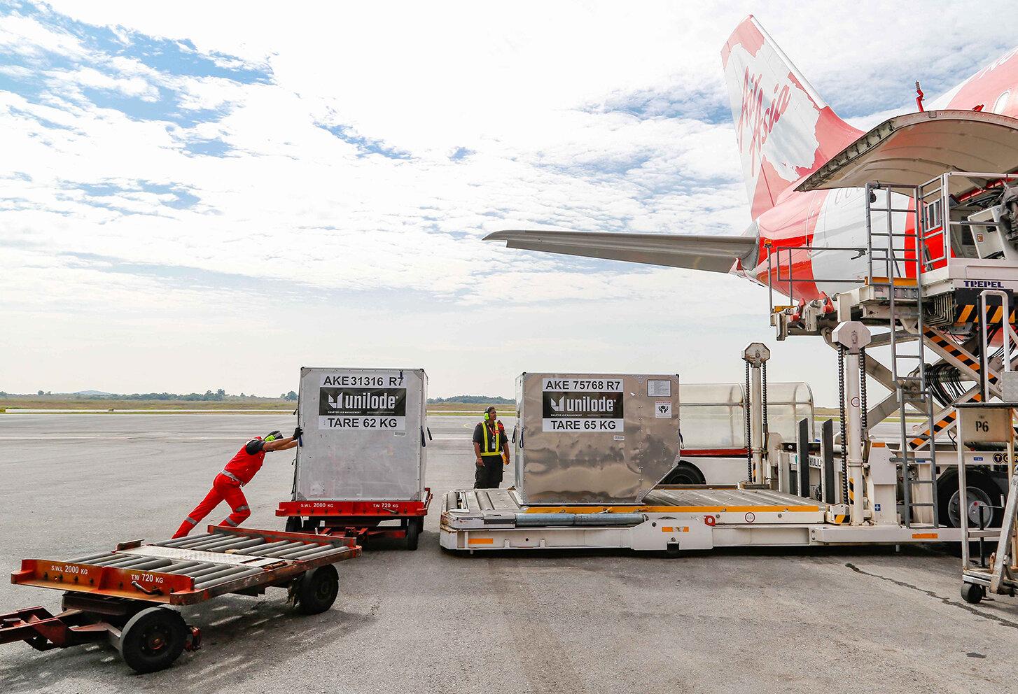 AirAsia utilises freightchain
