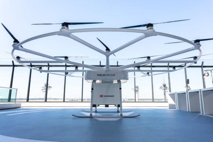 DB Schenker invests in Volocopter