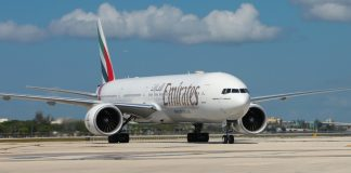 Emirates launches Miami route