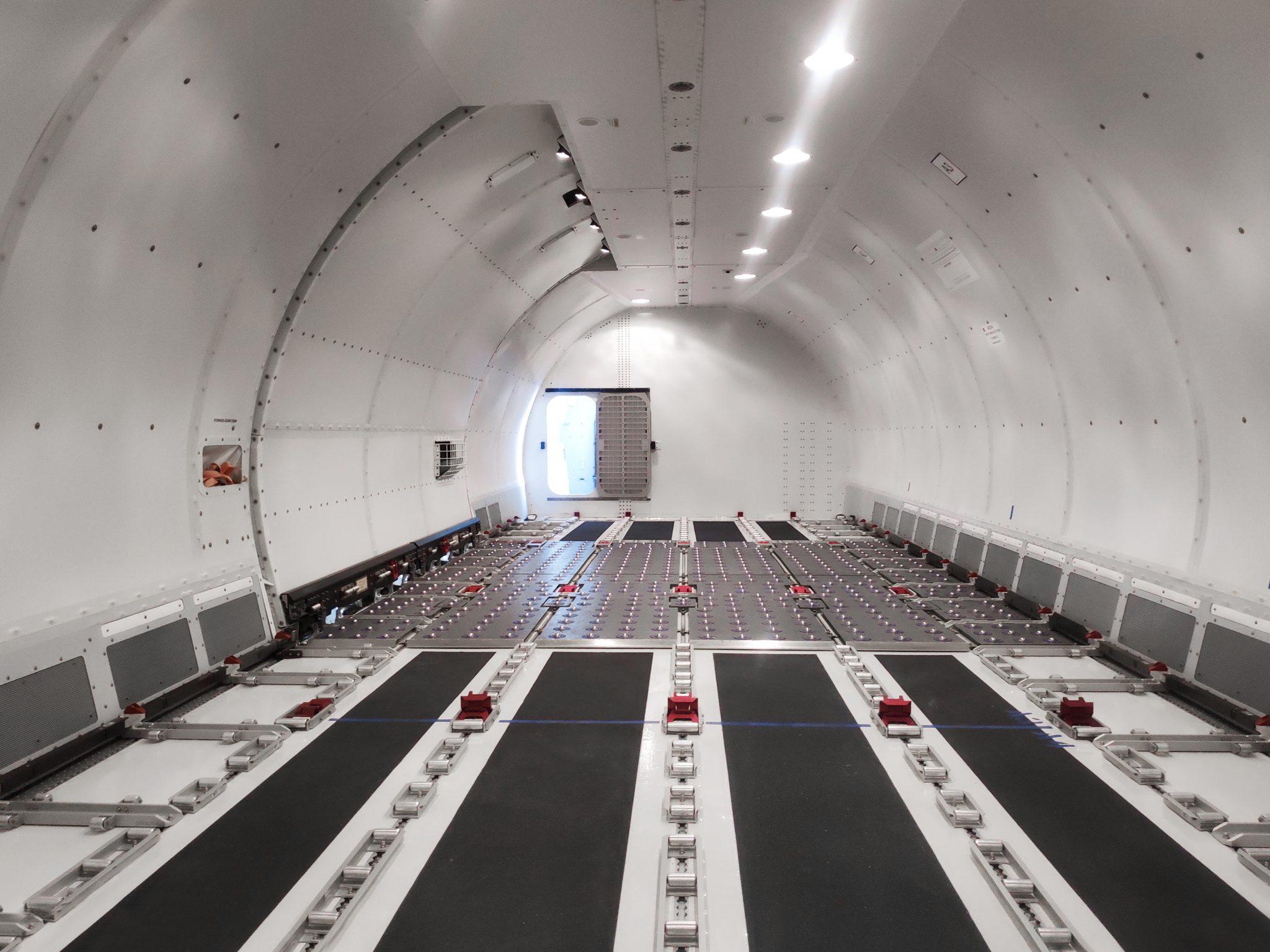 AviaAM adds converted Boeing to its fleet.