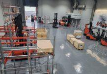 Toyota opens AGV demo centre
