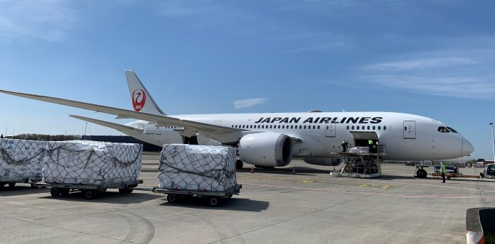 JAL partners with WFS