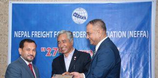 Qatar Cargo receives award in Nepal