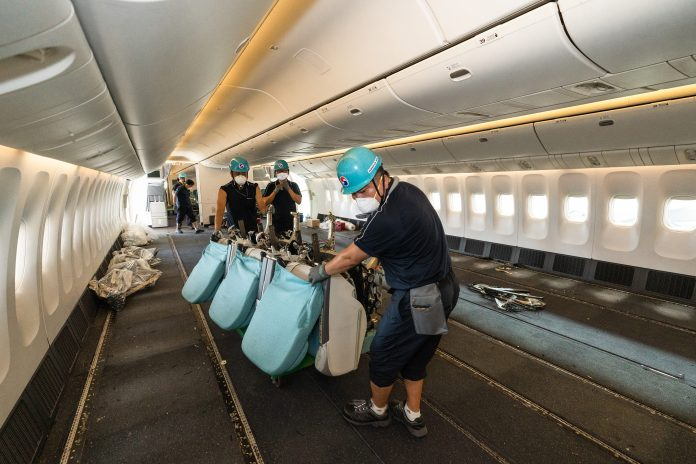 10000 cargo-only flights Korean Air