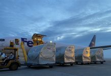 FedEx delivers COVID-19 vaccines, test kits to Vietnam