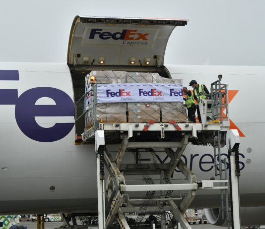 FedEx delivers critical COVID-19 aid to Indonesia