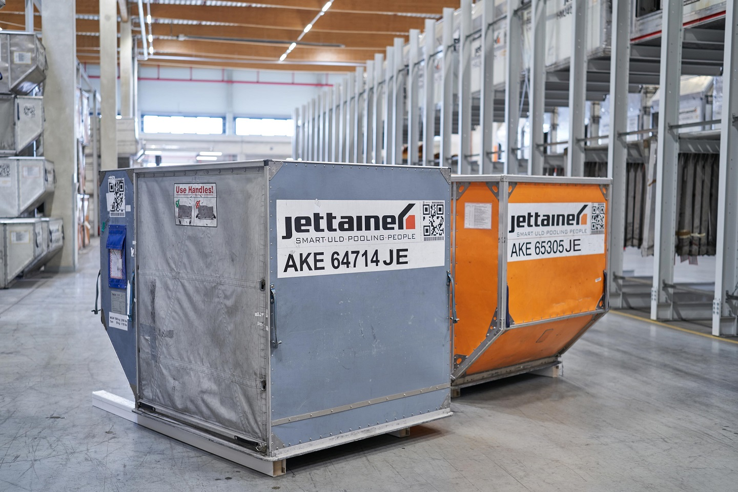 Jettainer experiencing growing demand for leasing services