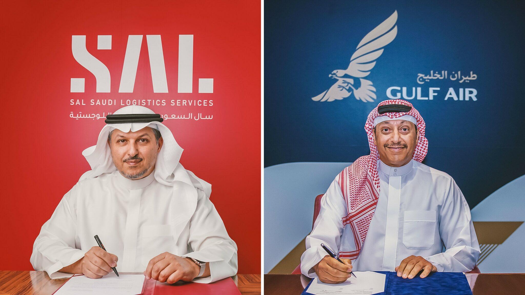 SAL and Gulf Air sign cargo logistics agreement