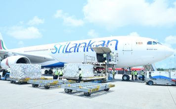 WFS wins SriLankan Airlines contract at Heathrow's new CenterPoint cargo terminal.