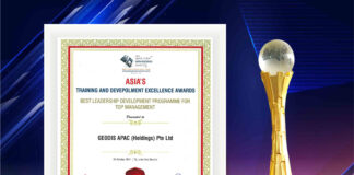 GEODIS' Leadership Programme recognised as the best in Asia