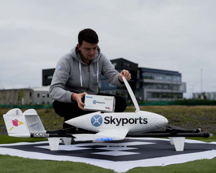 FedEx Express and FMCI complete drone delivery
