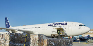 Lufthansa extends contract with WFS in Ireland