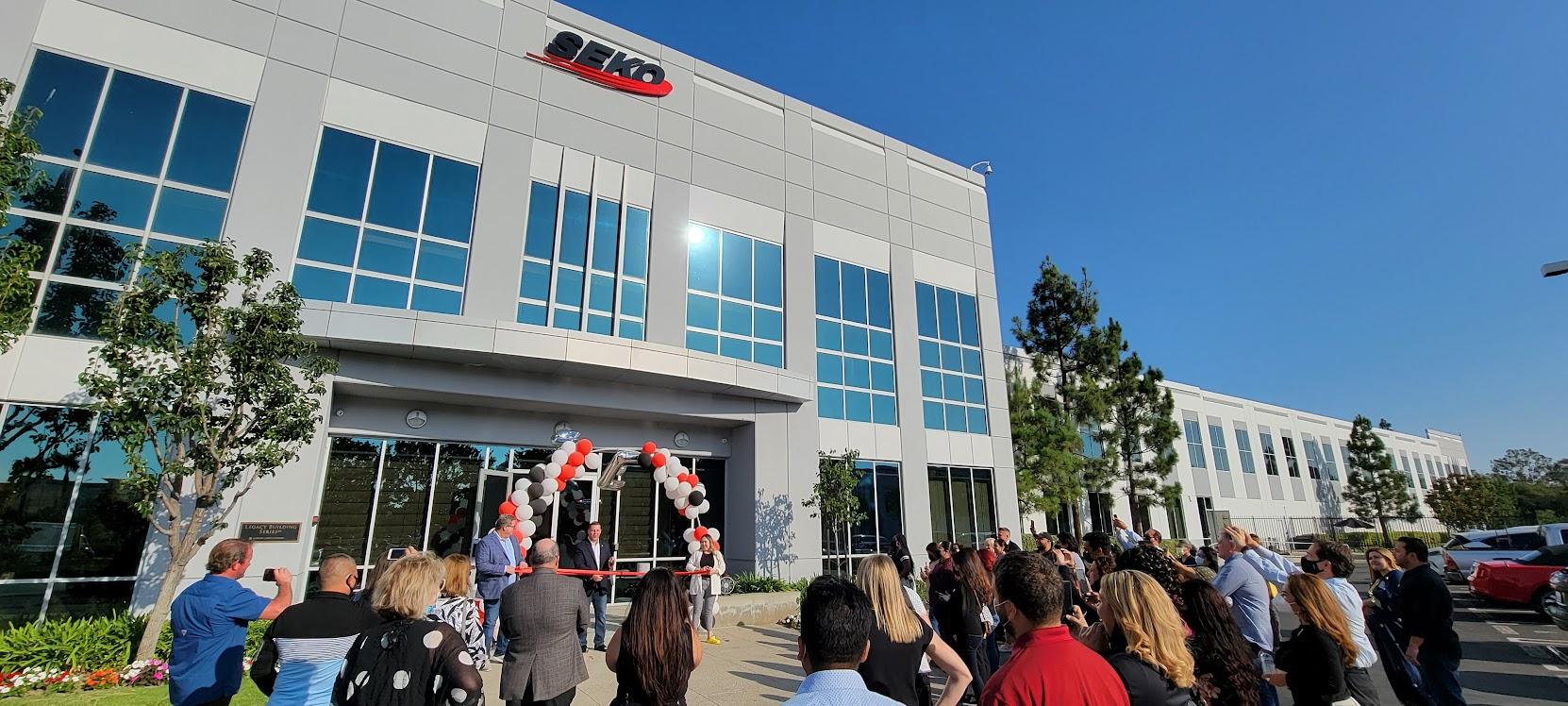 SEKO opens facility at LAX Campus
