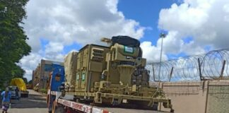 Vangard handles cargo for Indian Navy