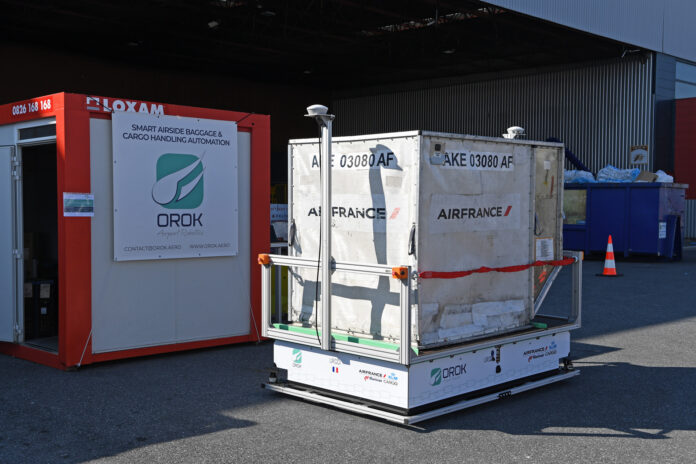 Groupe ADP and AFKLMP test autonomous solutions